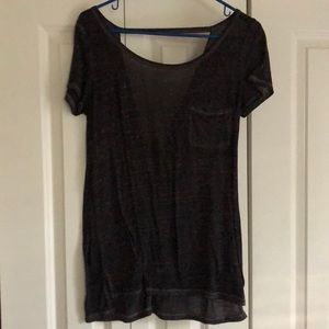 AEO Cut out Back Top
